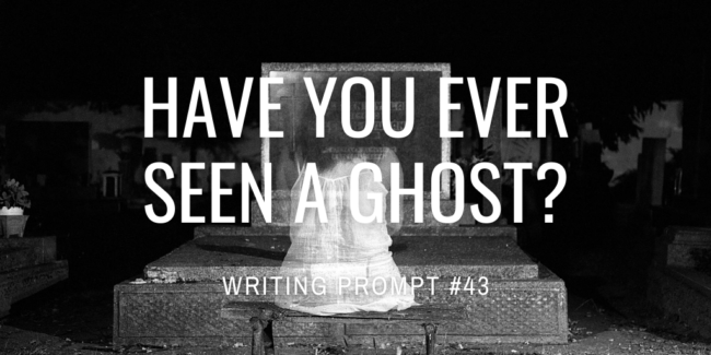Have you ever seen a ghost?