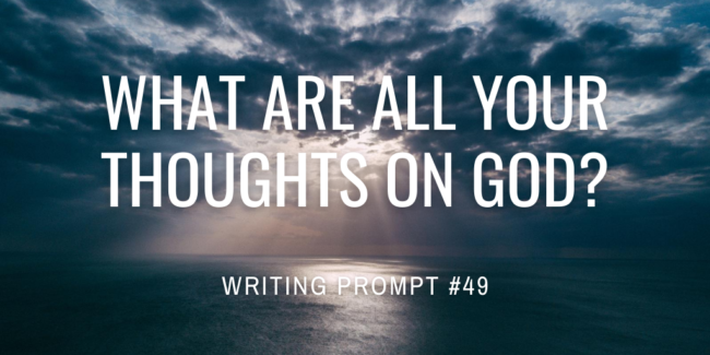 What are all your thoughts on god?