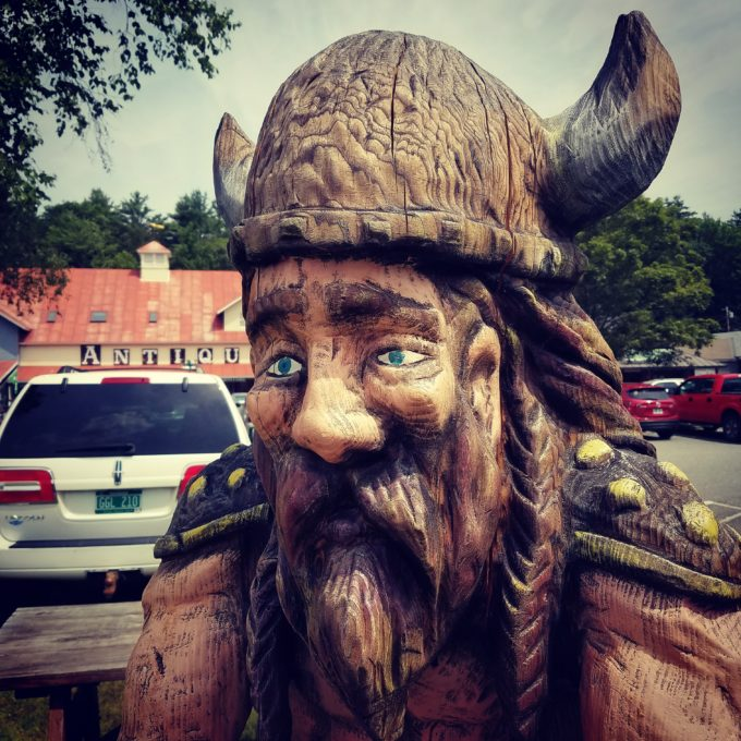 A Viking In The Parking Lot