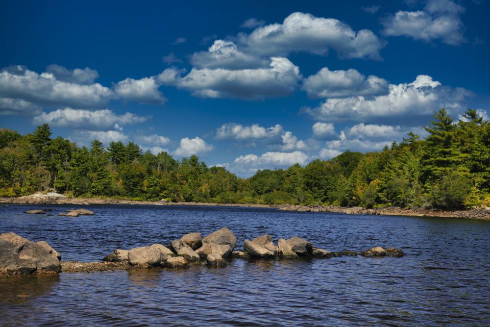 Aaron River Reservoir, Wompatuk State Park