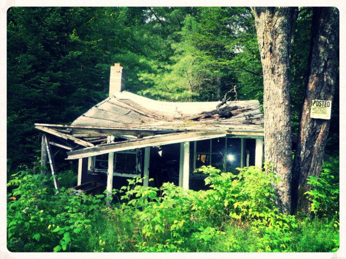 Abandoned Adirondack Hunting Cabin