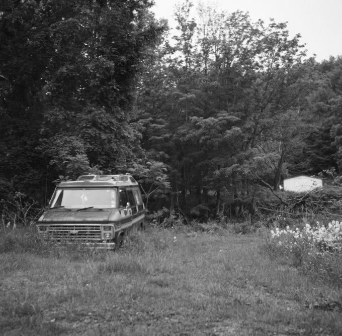 Abandoned Camper Van
