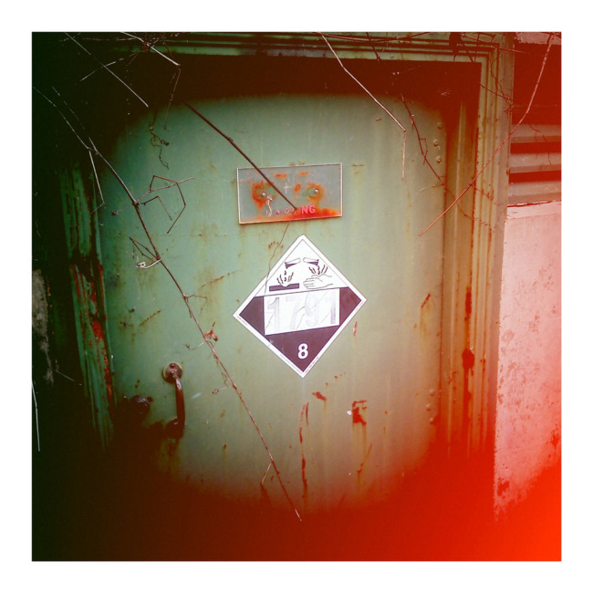 Abandoned Chlorine Door