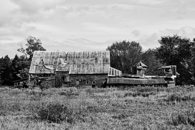 Abandoned Farm On Engleville Road