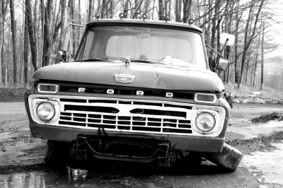 Abandoned Ford Truck