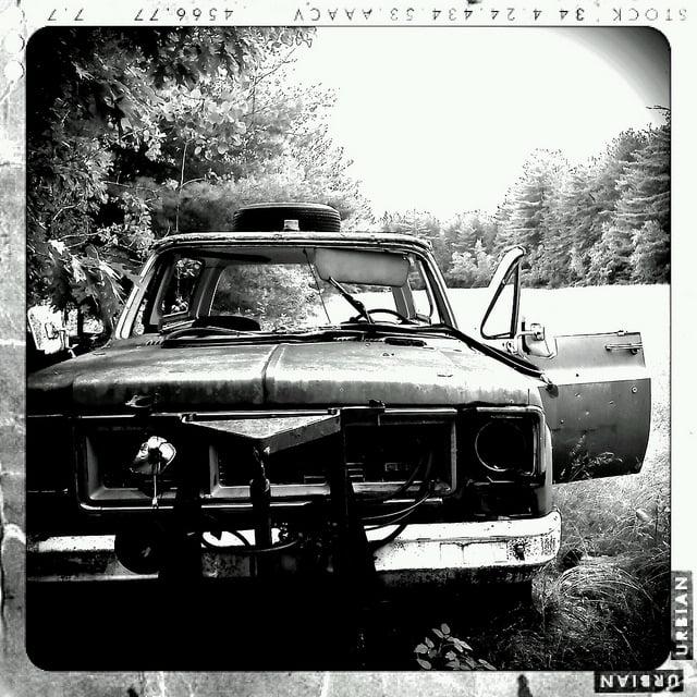Abandoned GMC Truck