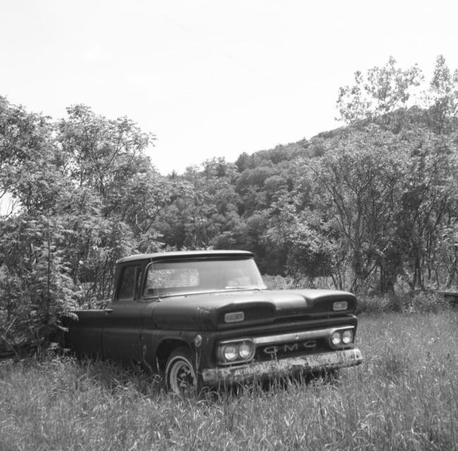 Abandoned GMC