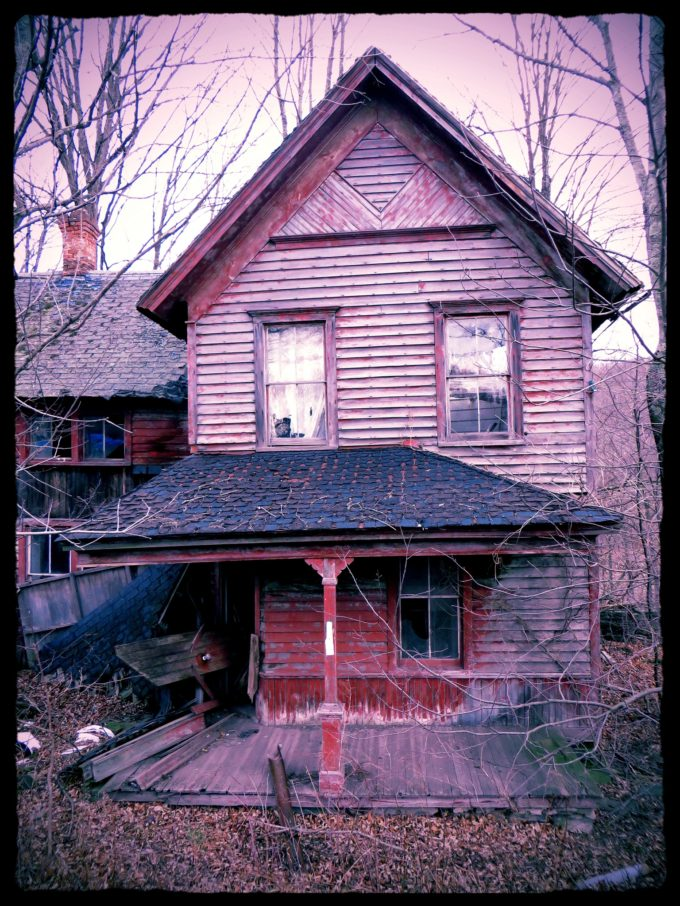 Abandoned Home With An Unplayed Piano