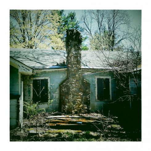 Abandoned House In Thacher Park