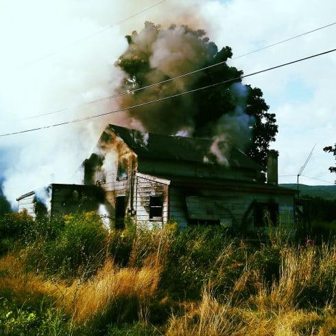Abandoned House On Fire (Vivid Edit)