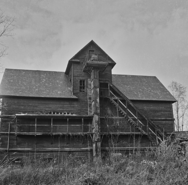 Abandoned Mill And Depot
