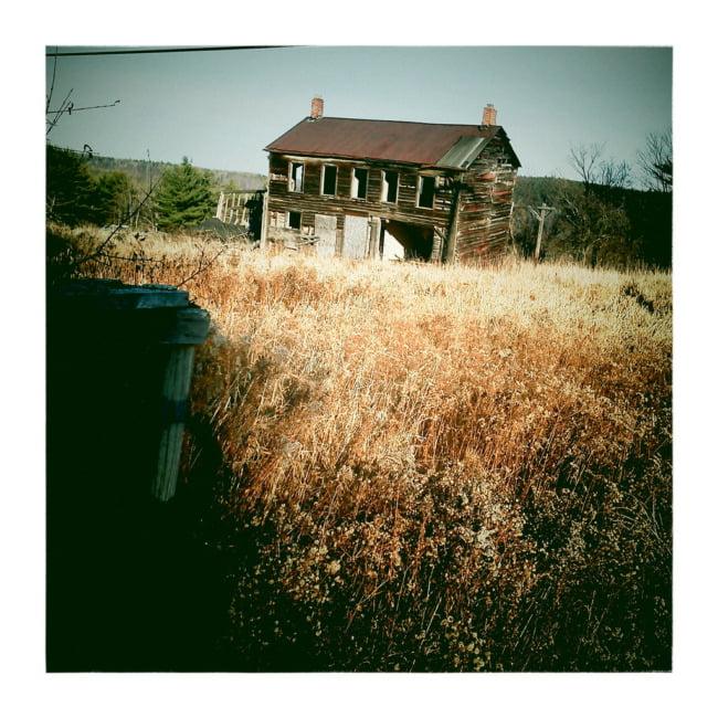 Abandoned Mining House