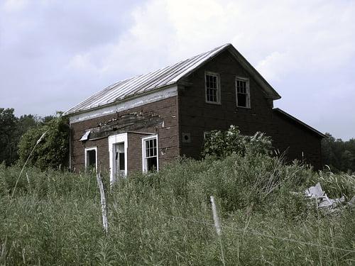 Abandoned One Room House