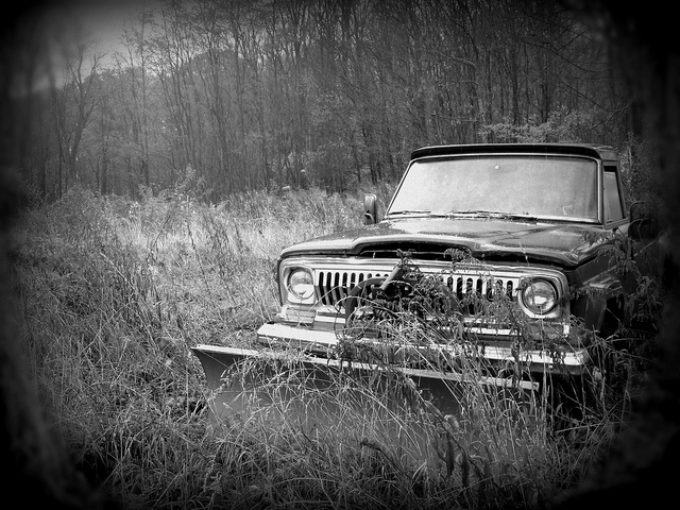 Abandoned Plow Car