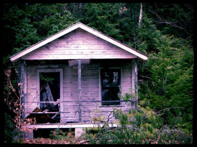 Abandoned Rental Cabin