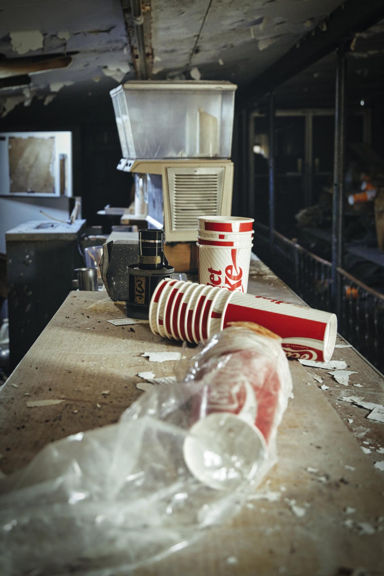 Abandoned Snack Bar