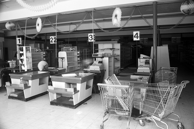 Abandoned Supermarket