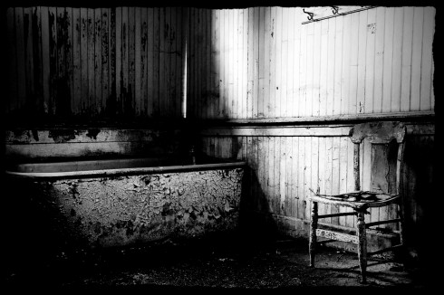 Bath And Chair (BW Edit)