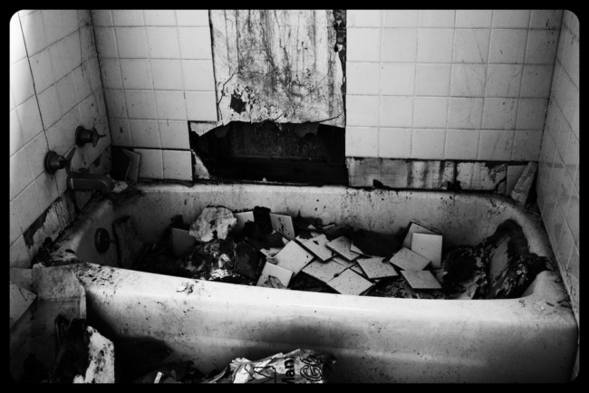 Bathtub Of Debris