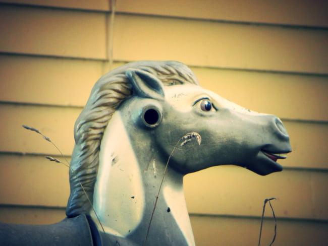 Broken Rocking Horse