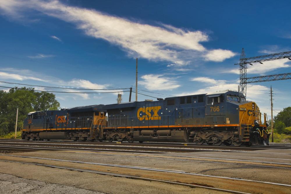 CSX 3422 and CSX  766