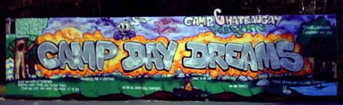 Camp Daydreams Mural