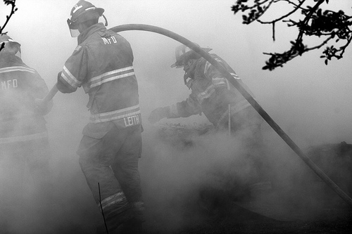 Clauverwie Road Fire