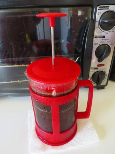 Cold Brew Coffee - French Press