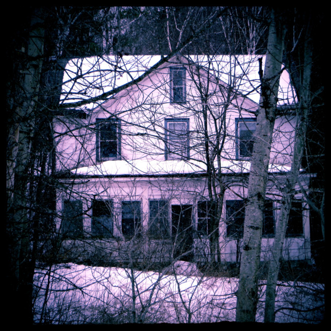 Creepy House In The Woods