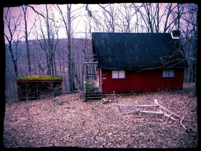 Creepy Red House