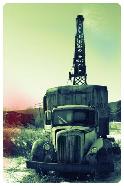 Dead Crane Truck