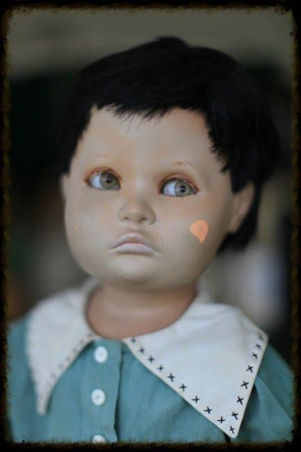 Edward The Creepy Doll