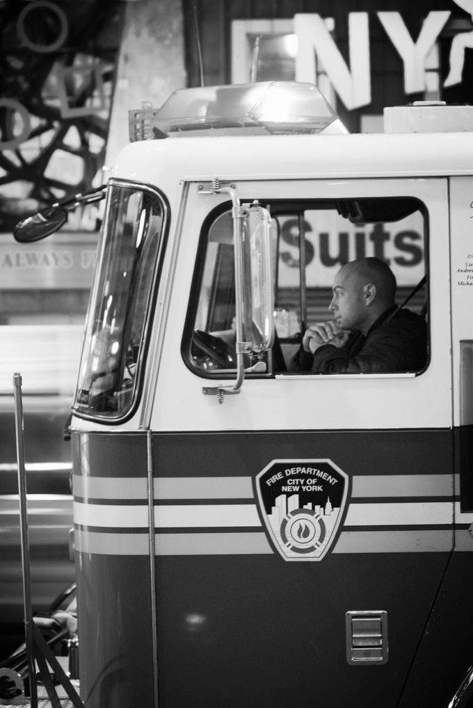 FDNY (Black & White Edit)