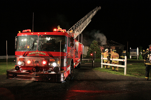 Fire At Pilgrim Holiness Church