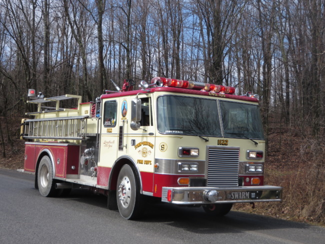 Outdoor Fire On Anderson Road