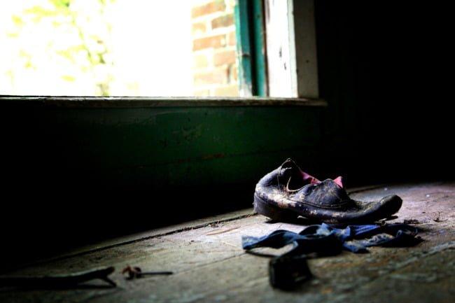 Old Forgotten Shoe