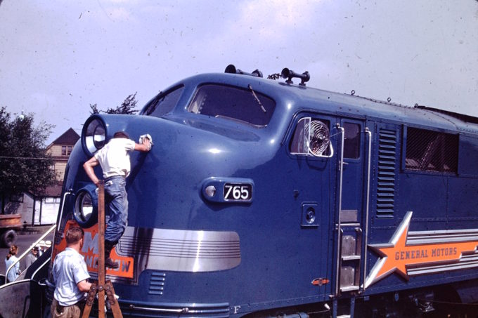 General Motors Locomotive #765