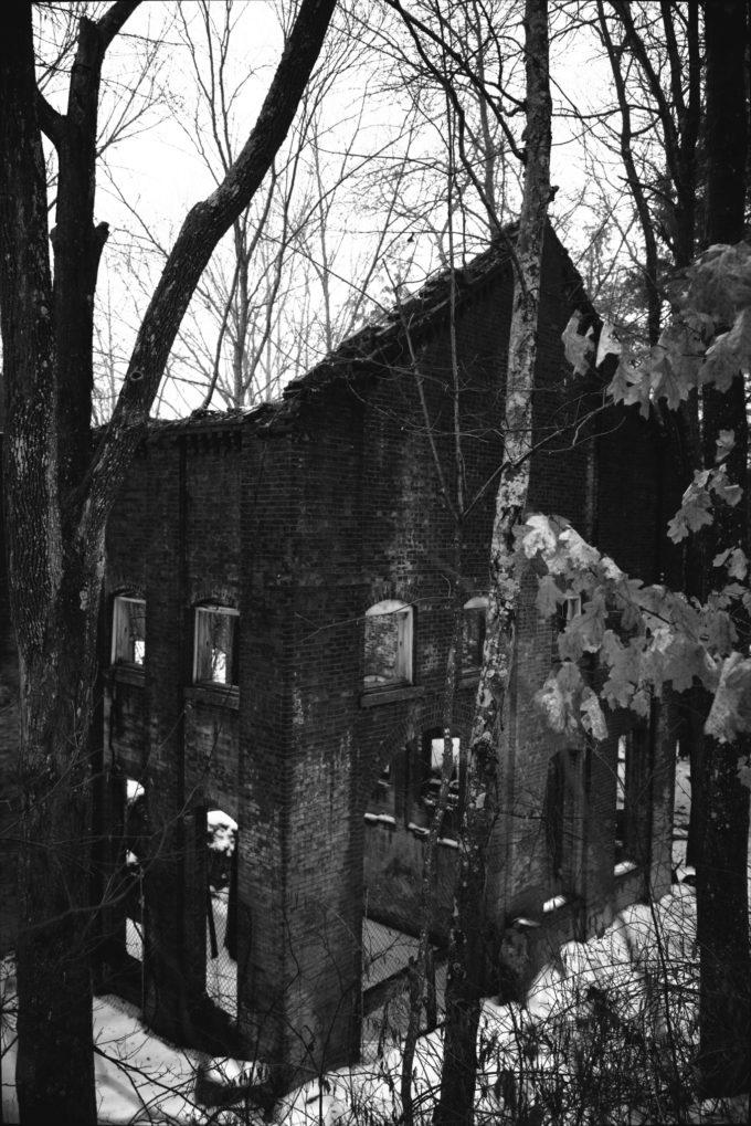 Ghost Factory (Black & White Edit)