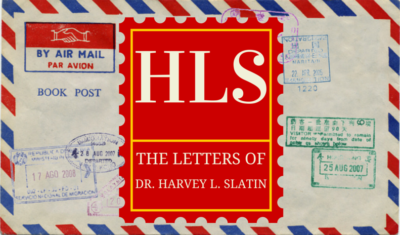 HLS - The Letters Of Harvey L. Slatin