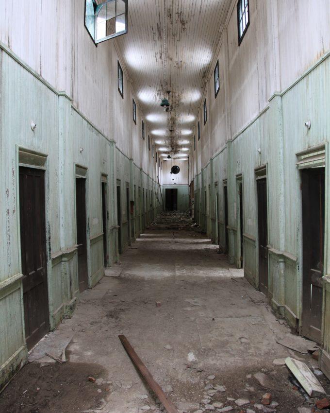 Imperial Baths Hallway