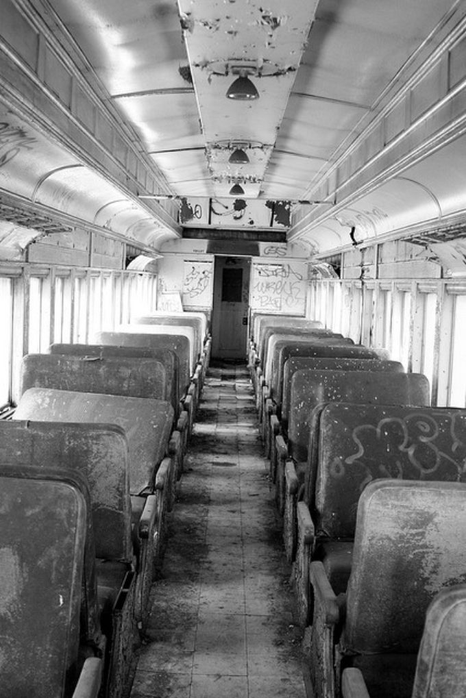 Intact Passenger Car