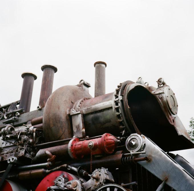 Junk Train Sculpture