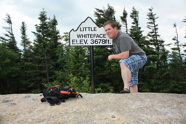 Little Whiteface - Elevation 3678 Feet