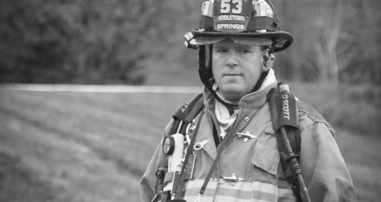 Middletown Springs Fire Department – Thomas Slatin (Black And White)
