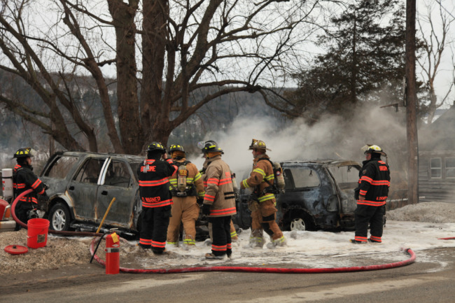 Multiple Vehicle Fire On Windy Ridge Road