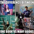 One Book Vs Many Books