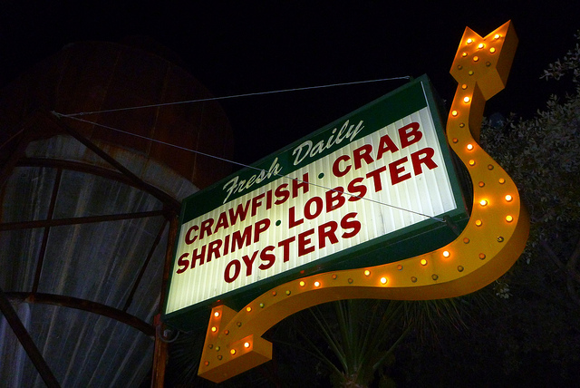 Pappadeaux Lighted Sign