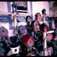 Pennsylvania-Dutch-Bird Houses