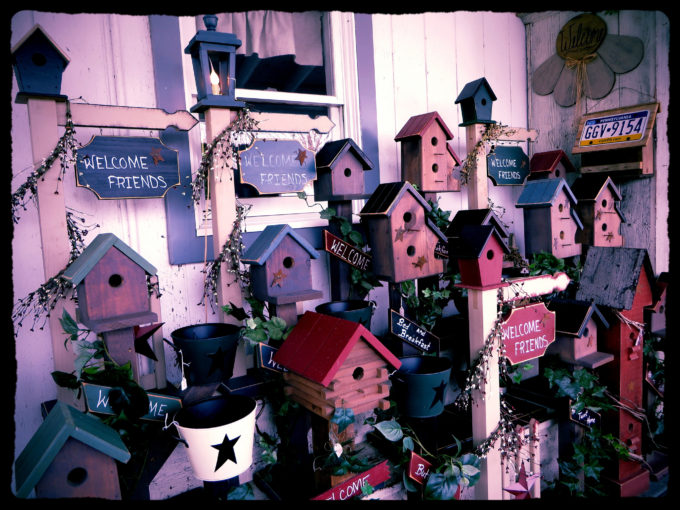 Pennsylvania Dutch Bird Houses