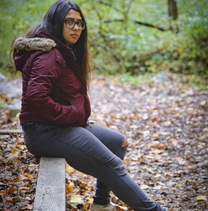 Makayla At Pine Hill Park